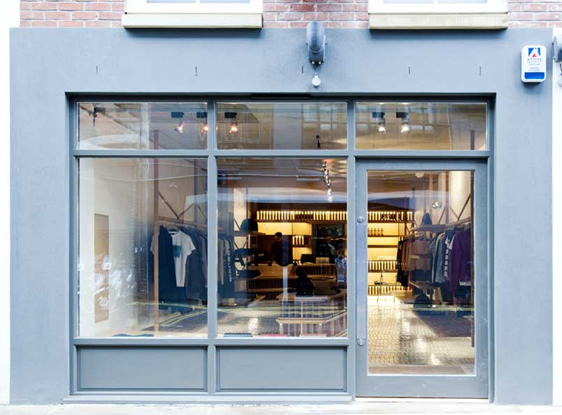 Shop interior for APC London